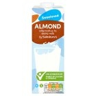 cheap almond milk Sainsbury's Sweetened Almond Drink 1L