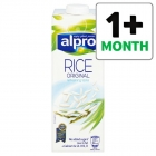 cheap rice milk Alpro Rice UHT Drink 1L