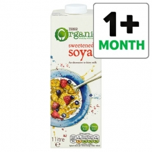 cheap soya milk Tesco Organic Soya Sweetened Longlife Milk Alternative 1 Litre